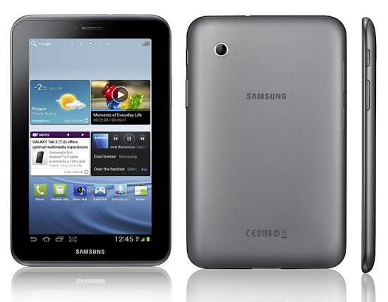 Spesifikasi Samsung Galaxy Tab 2 7.0