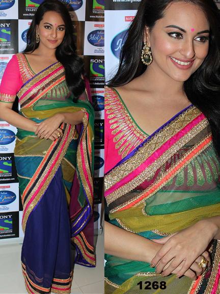 Bollywood Actress Gorgeous Saree, Bollywood Actress Krina Kapoor, Rani Mukharji,Diya Mirza Replica Saree in Australia
