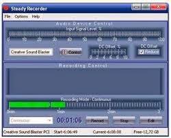 تنزيل برنامج مسجل الصوت كامل برابط واحد دونلود Steady Recorder 3