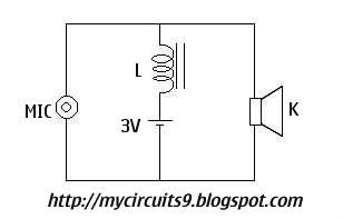 simple telephone circuit