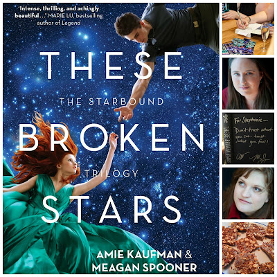 "High School Book Group Reads ""These Broken Star"" for August 27, 2015"