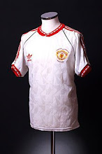 1990-91 Manchester United Cup Winners Cup Final Shirt
