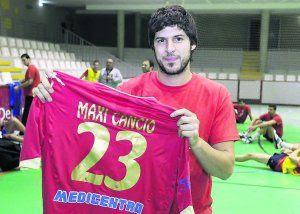 MAxi Cancio (URU) jugará en ASOBAL   Mundo Handball