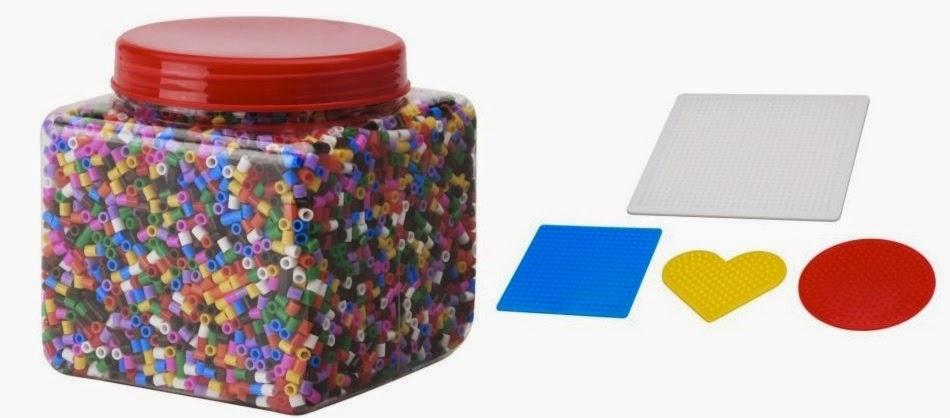 Oh hama introducci n a los hama beads - Plantillas pared ikea ...