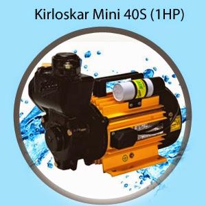 Kirloskar Mini 40S (1HP) Online, India - Pumpkart.com