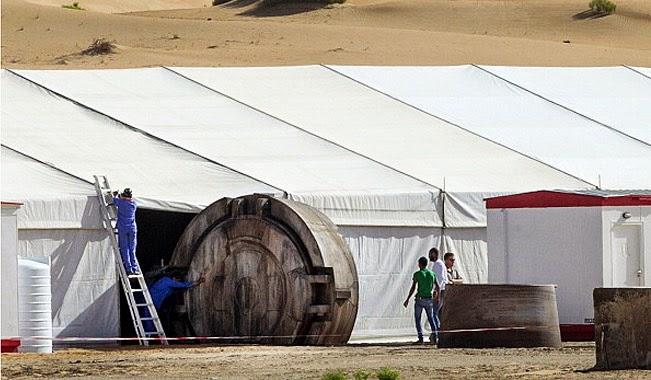 Mos Eisley Abu Dhabi Set