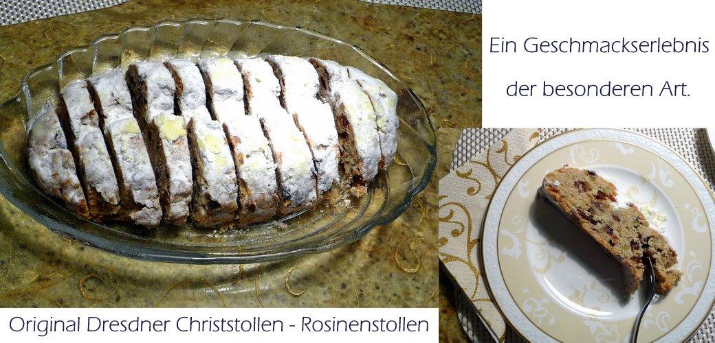Original Dresdner Christstollen