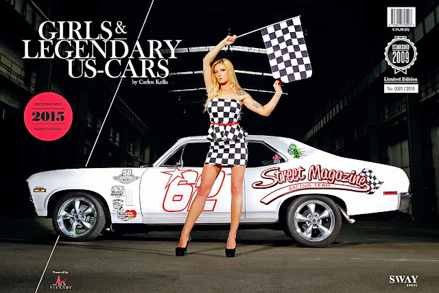 Girls and Legendary US-Cars, 2015 Calendar