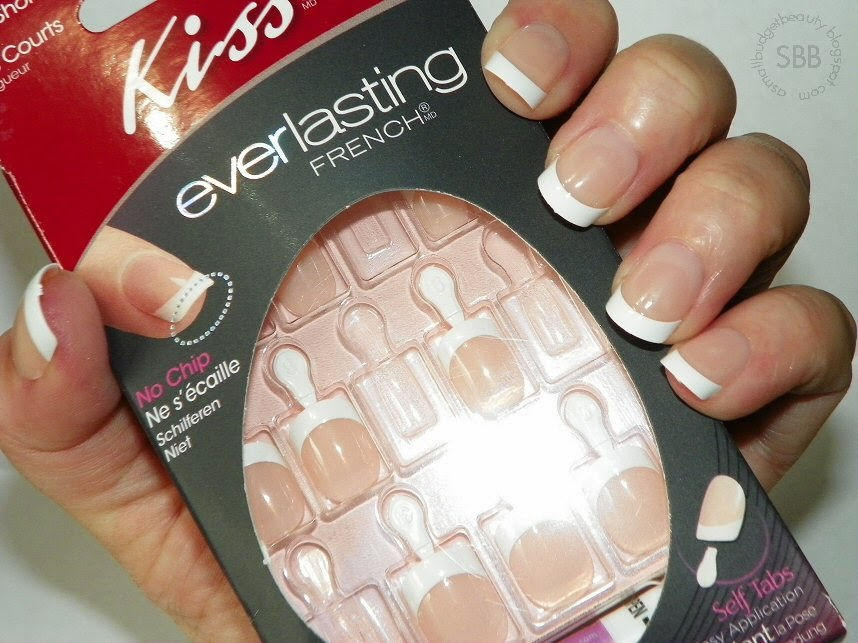 Small Budget Beauty: Review: Kiss Everlasting French Nails