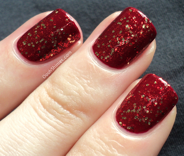 China Glaze Merry Berry with Pure Joy