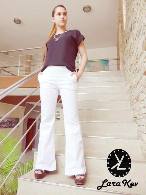 Pantalones Lara Kev primavera verano 2016.