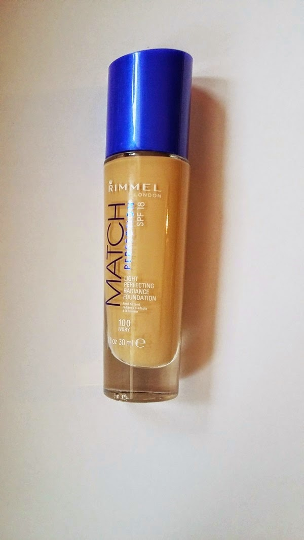 Rimmel Match Perfection & OOTD
