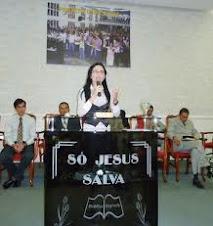 Missionária Mikaelle Tenório
