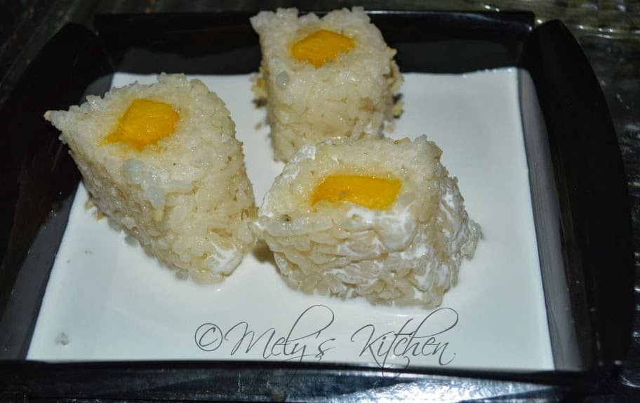 Mely\'s Kitchen Sticky Rice with Mango - Mely\'s kitchen