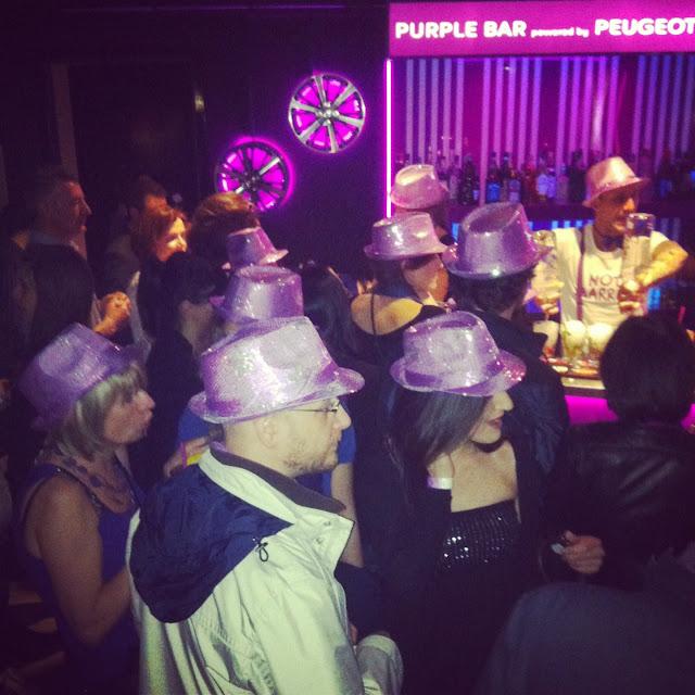 Peugeot 208 XY Purple Night Party 10 maggio Milano Bobino