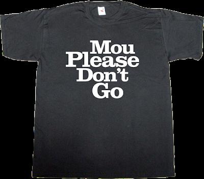 classics rock José Mourinho real madrid fun irony t-shirt ephemeral-t-shirts