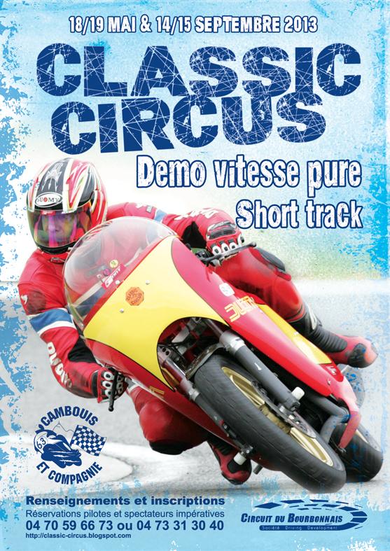les  sorties A réaliser moto trike CLASSIC+CIRCUS+2013