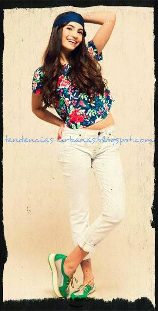 blusa con estampa floral
