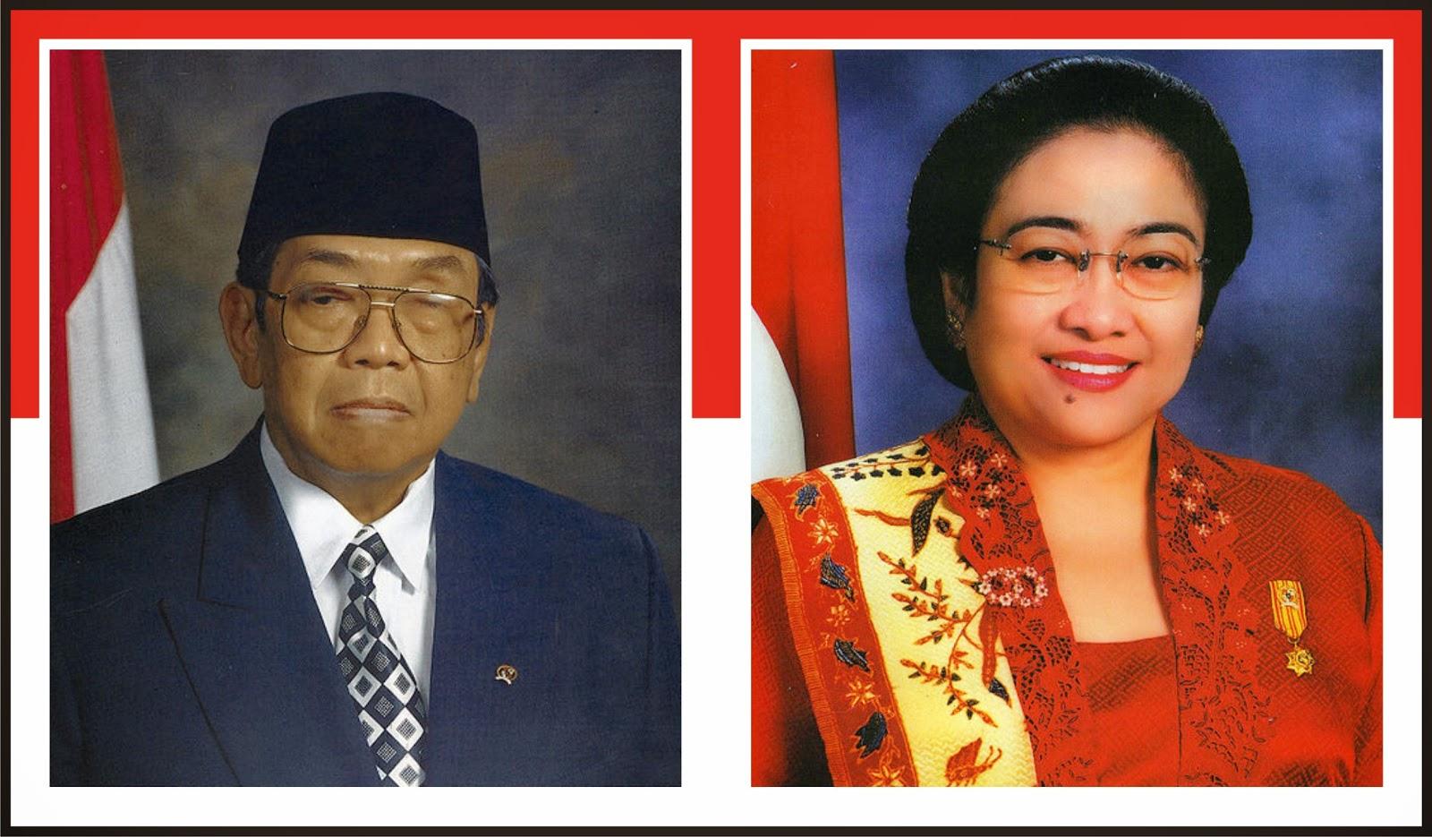 Abdurrahman Wahid dan Megawati Soekarno Putri