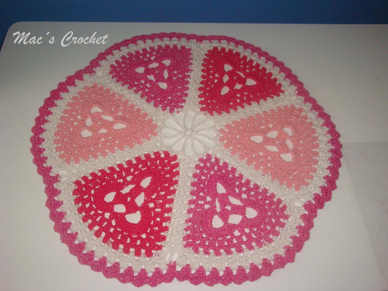 marcia colita crochet tapete redondo mandala. Black Bedroom Furniture Sets. Home Design Ideas