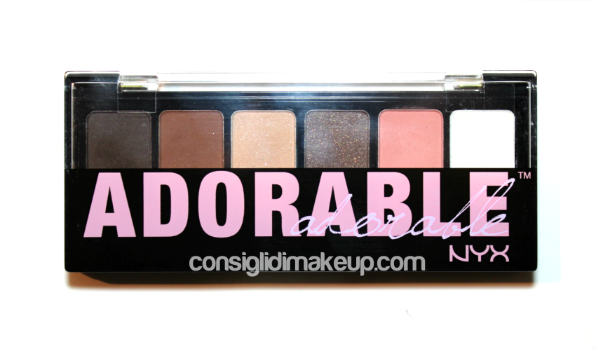 Review: Palette Adorable - Nyx Cosmetics