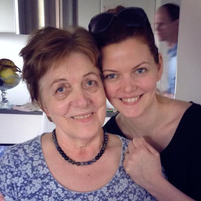 Mor og mig.... 12. maj 2013