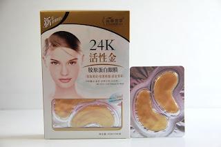 Liyanshijia 24K Active Gold Collagen Eye Mask