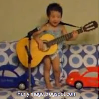 Korean baby sing hey jude