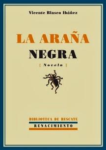 Portada del libro la araña negra para descargar en epub y pdf