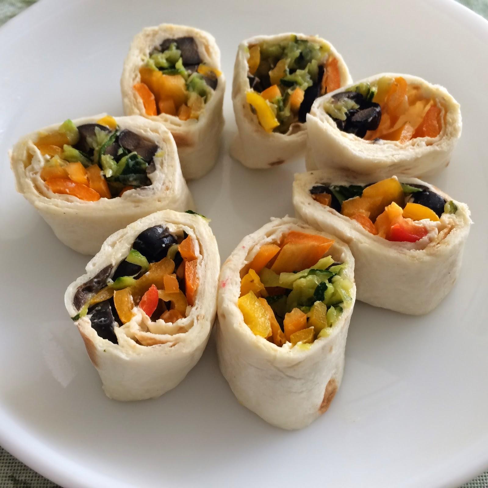 Tortilla Rolls/ Pinwheels