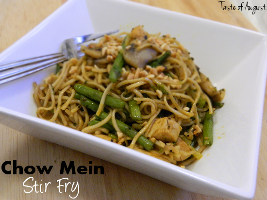 Chow Mein Stir Fry