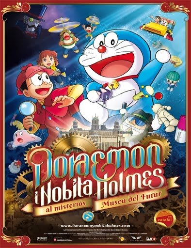 ver Doraemon y Nobita Holmes en el misterioso museo del futuro – 2013
