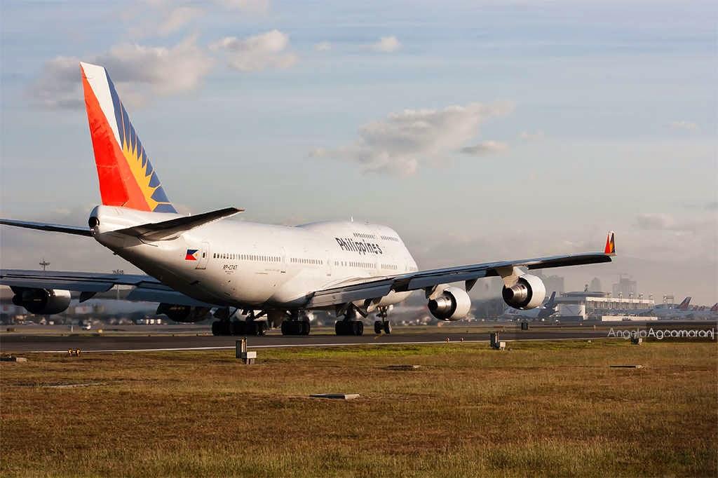 philippine airlines 747 last flight