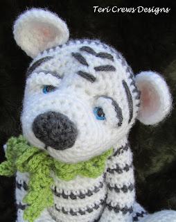 White Tiger Crochet Pattern Free : Teris Blog: New White Tiger Crochet Pattern