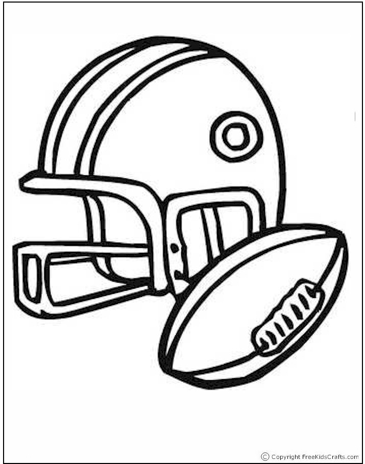 free kids sports coloring pages
