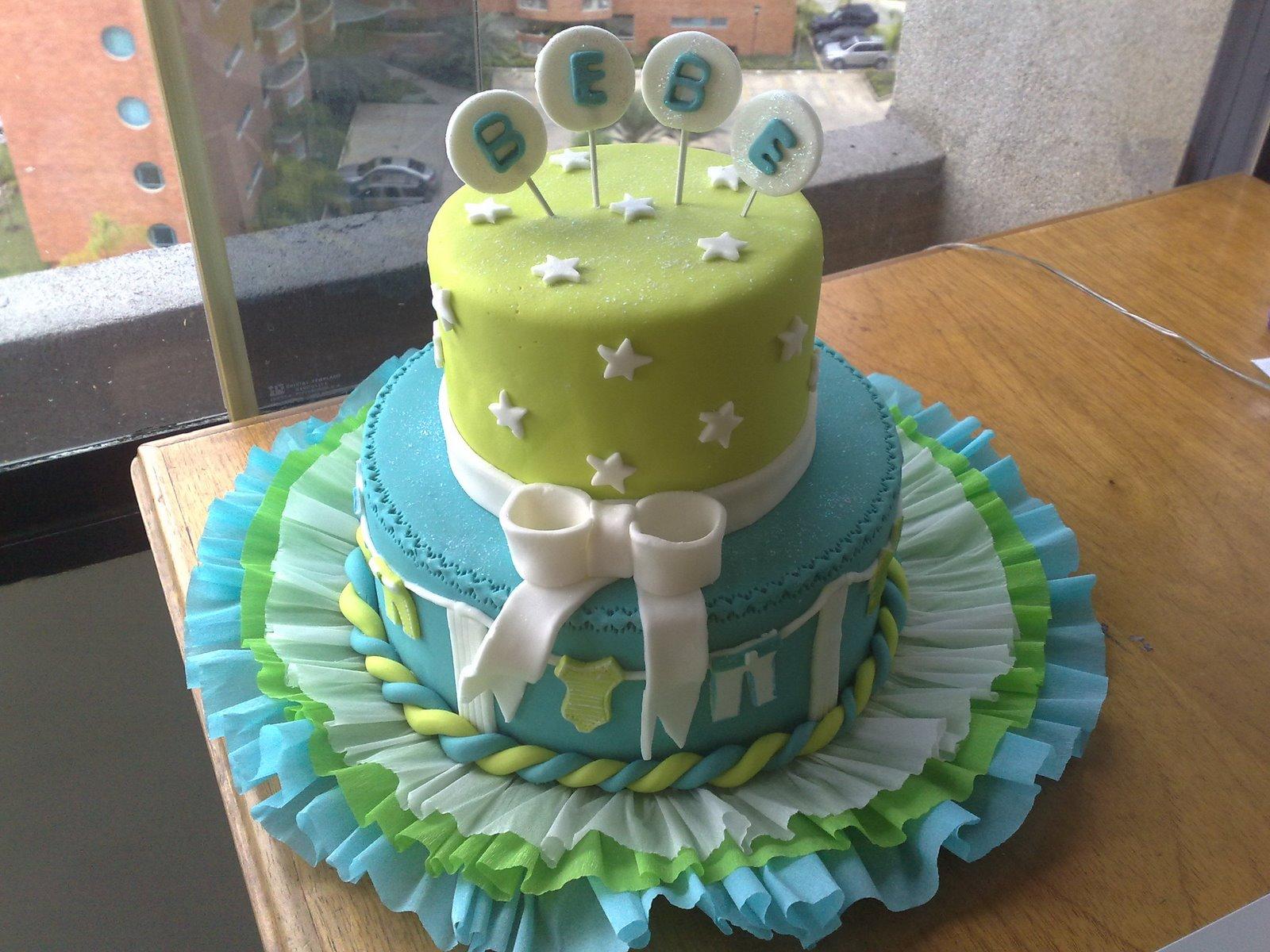 Tortas de baby shower en forma de ponque - Imagui