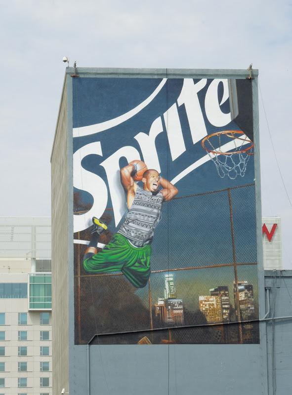 Sprite basketball billboard