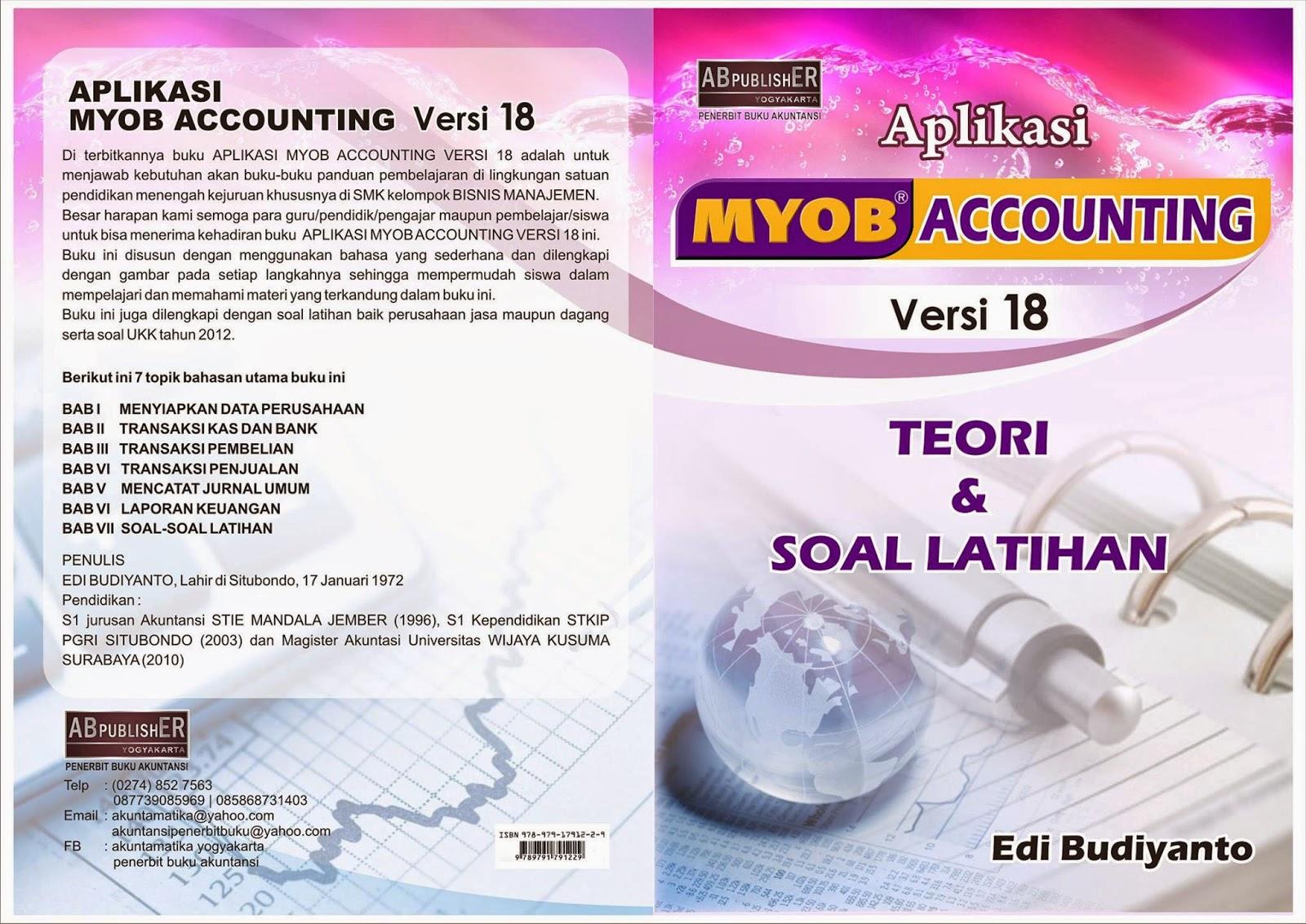 Buku Teori Dan Soal Latihan Aplikasi Myob Accounting Versi 18 Belajar Dan Nge Blog