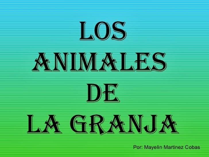 http://www.slideshare.net/ccataln/animales-de-granja-3335379