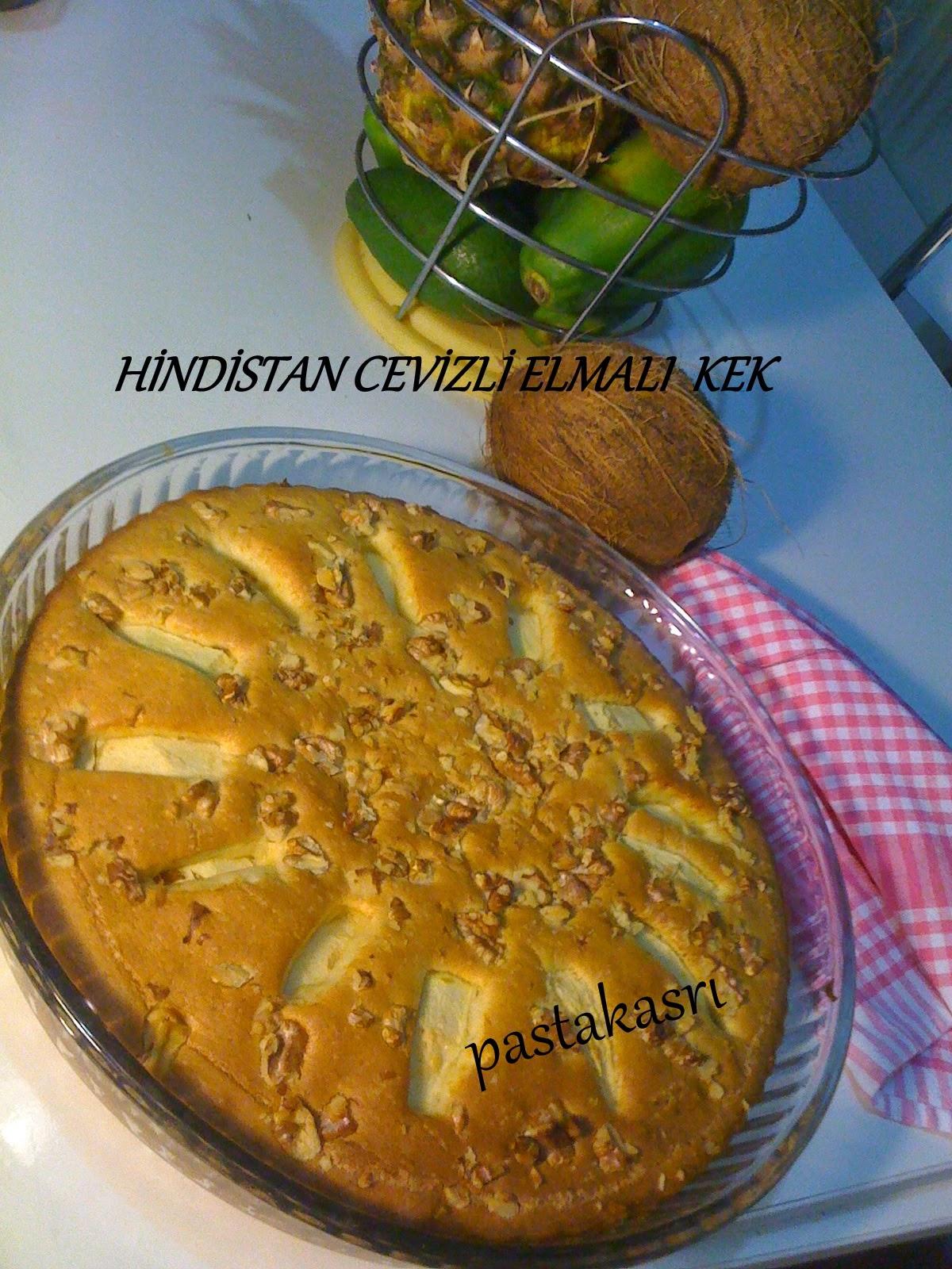 Cevizli Elmalı Kek