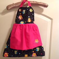Girl's Apron:  Click on Photo to order!