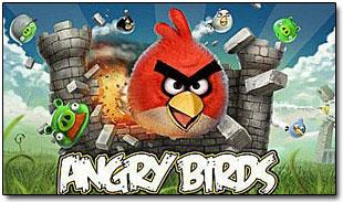 Игра Angry Birds для NOKIA.