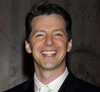 Sean Hayes He played the gay character Jack McFarland on