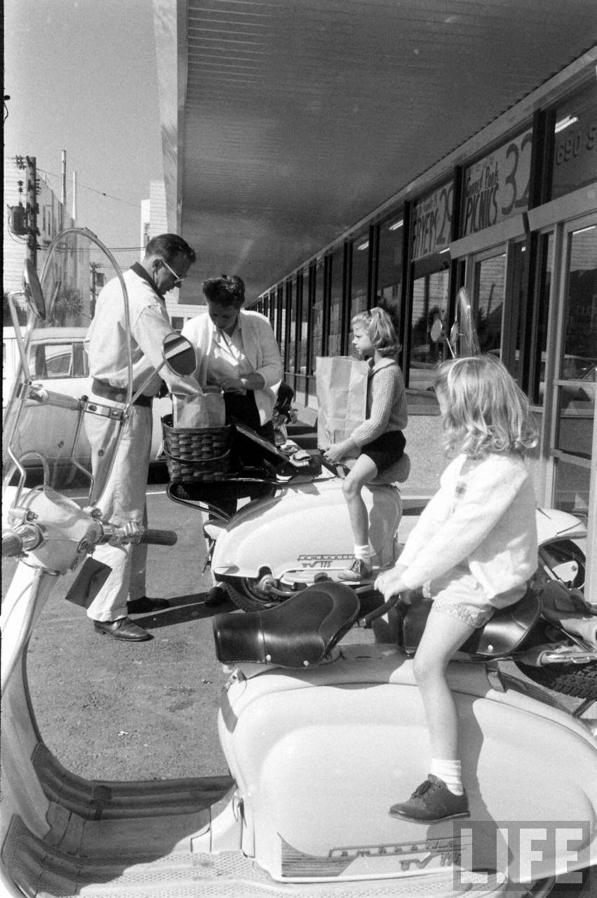 Motor Scooter Squabble In California In The 1960s