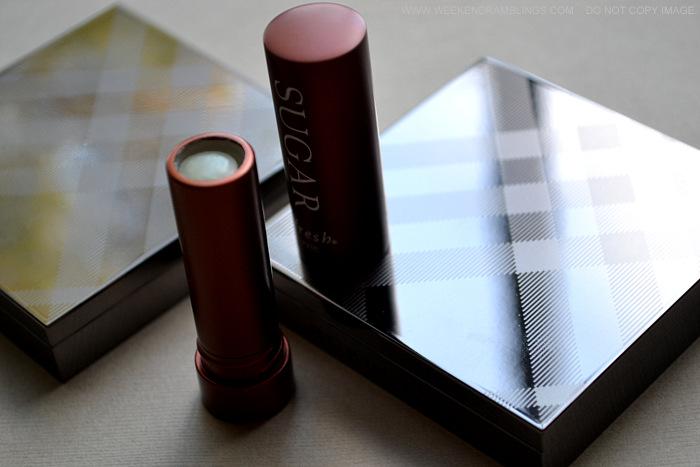 Fresh Sugar Clear Lip Treatment Balm SPF 15 Indian Makeup Beauty Skincare Blog Reviews