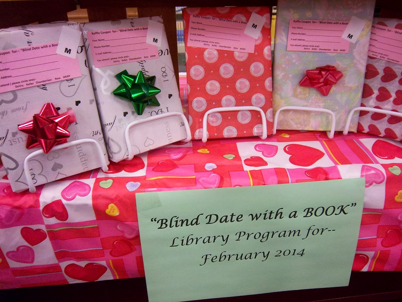 Blind Date with a Book Raffle Drawing Results | DeVry University ...