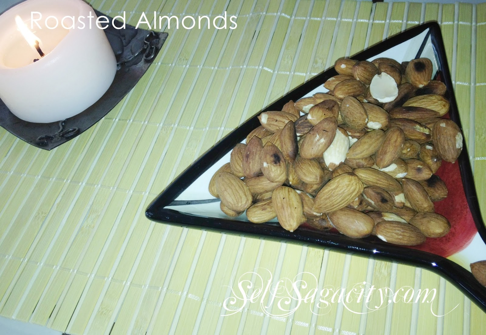 roasted almonds image