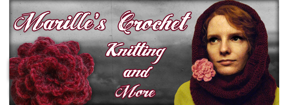 Marille's crochet, knitting and more