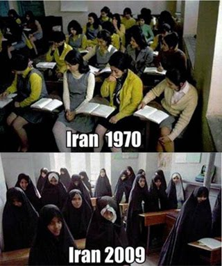 Iran 1970s and today