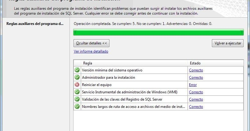 Runakay: Installing SQL Server 2008 Without Rebooting